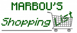 Marbou's Shopping List Logo.png